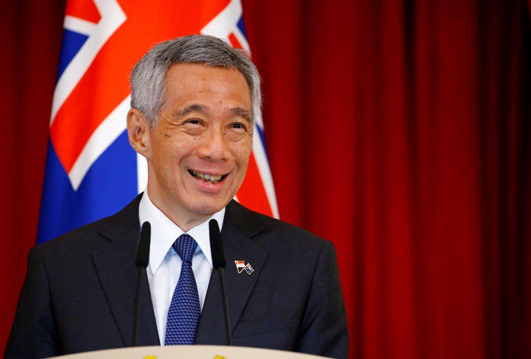 新加坡總理李顯龍。  路透