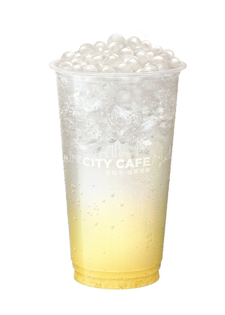 新飲品「蜜柚氣泡珍珠」每杯售價75元。圖/統一提供
