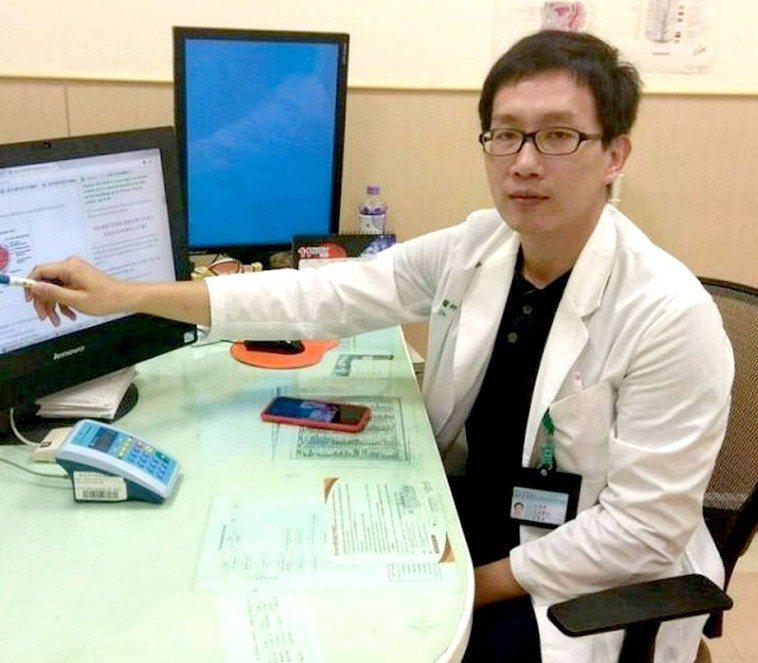 台南市立安南醫院泌尿科醫師林育緯。圖/醫院提供
