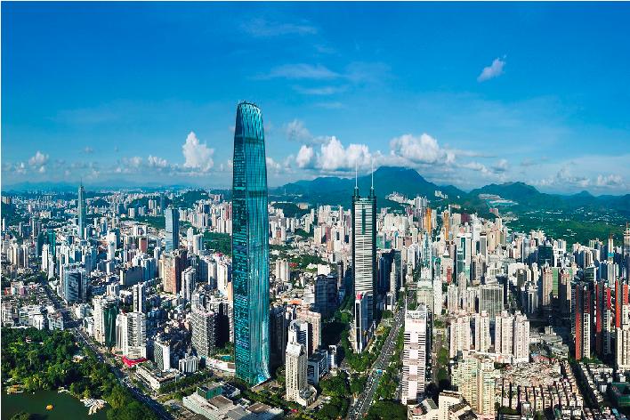 北京發布文件,將毗鄰香港的中國深圳升格為示範區。(香港01)