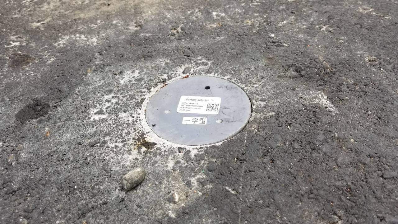 竹市府於新莊車站、馬偕醫院、市政府與巨城購物中心等熱門路段,埋設1130顆地磁感...