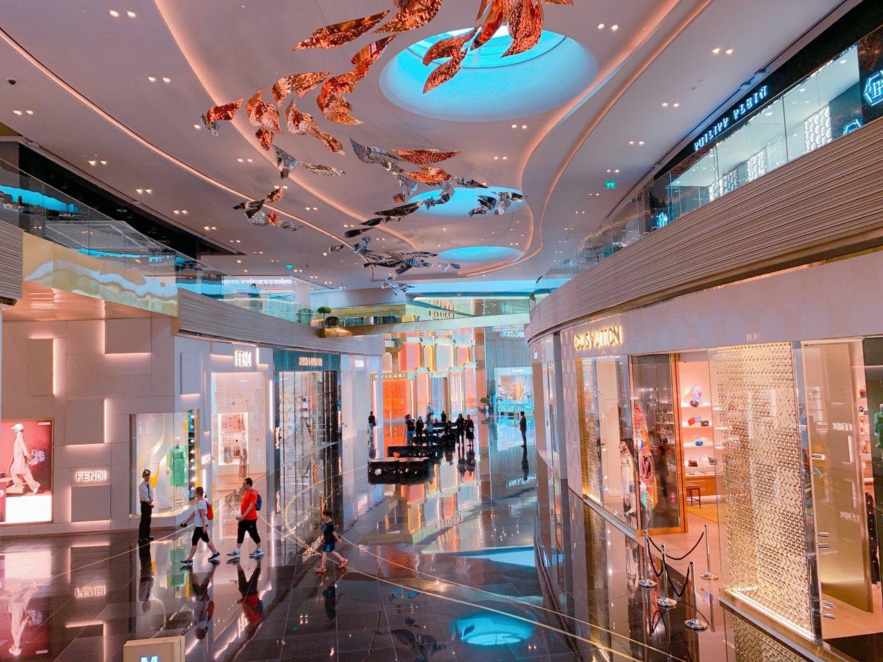 全球國際名品店進駐ICONSIAM。記者徐力剛/攝影