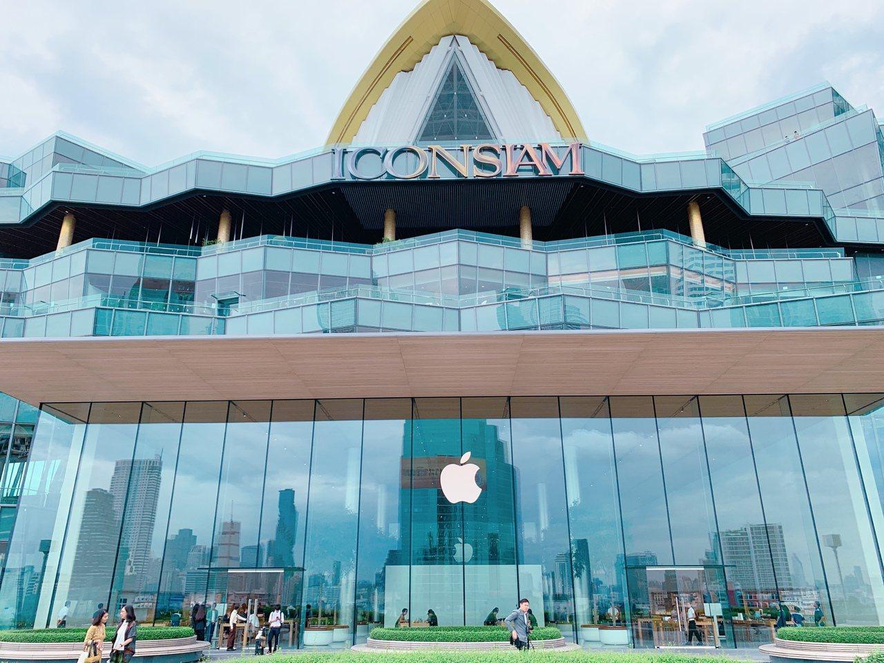 泰國首家Apple旗艦店落腳ICONSIAM。記者徐力剛/攝影