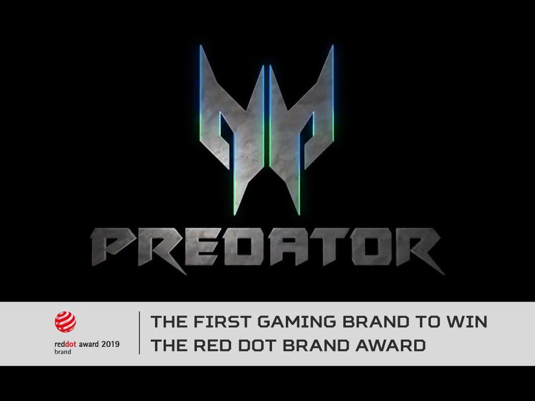 宏碁Predator掠奪者 成全球第一個獲德國紅點品牌獎電競品牌