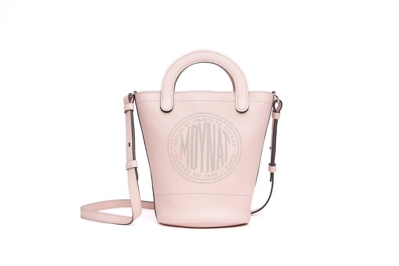 Fleur水桶包(芙蓉色),10萬600元。圖/MOYNAT提供