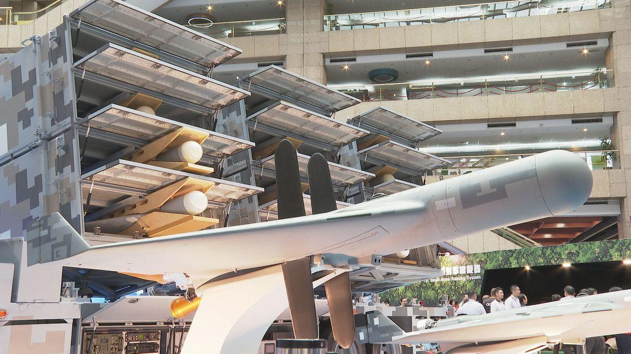 中科院研發的「劍翔」反輻射無人機全系統首度亮相,具備飛越台海,並攻擊對岸沿海陸基...