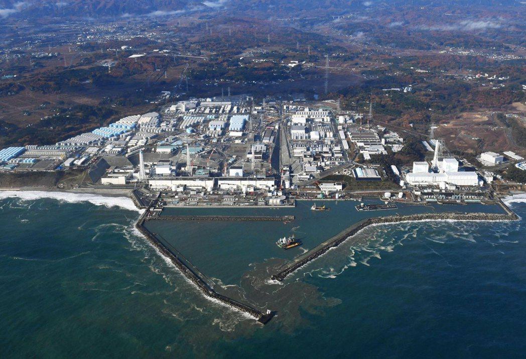 南韓在野黨議員建議,應管制福島等八個縣進口的加工食品。圖為福島大熊町第一核電廠的...