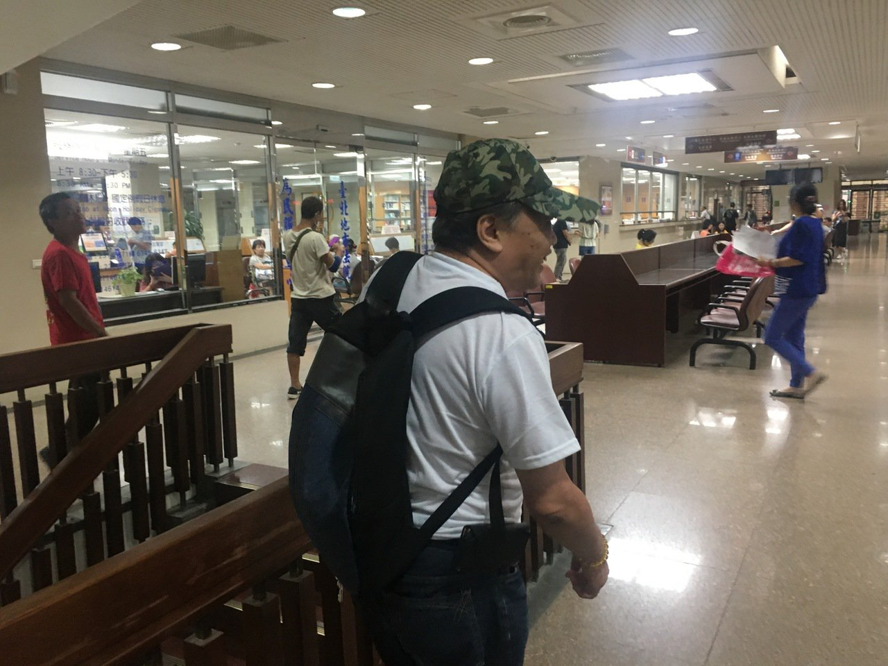 李姓獨居老者使用電器不慎釀火災害命,他今天出庭聽判。記者王聖藜╱攝影
