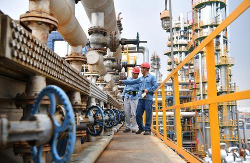 中國石油天然氣集團公司傳出在8月暫停裝載委內瑞拉石油。照片/中國石油天然氣集團公...