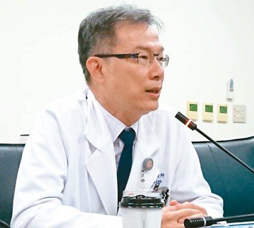高醫外科醫師李維哲。 記者蔡容喬/攝影