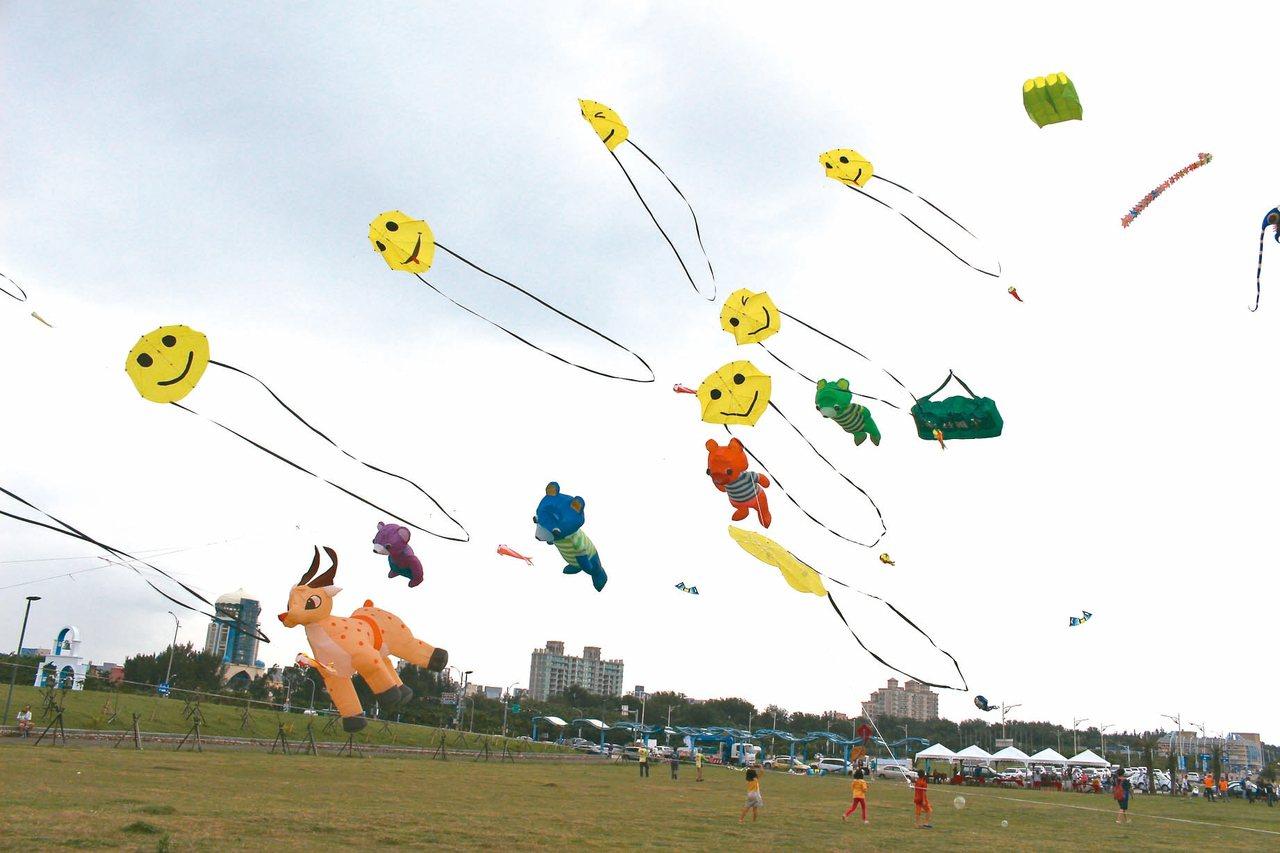 2019新竹市國際風箏節將於8月24日、25日在新竹漁港熱鬧登場。 記者張雅婷/...