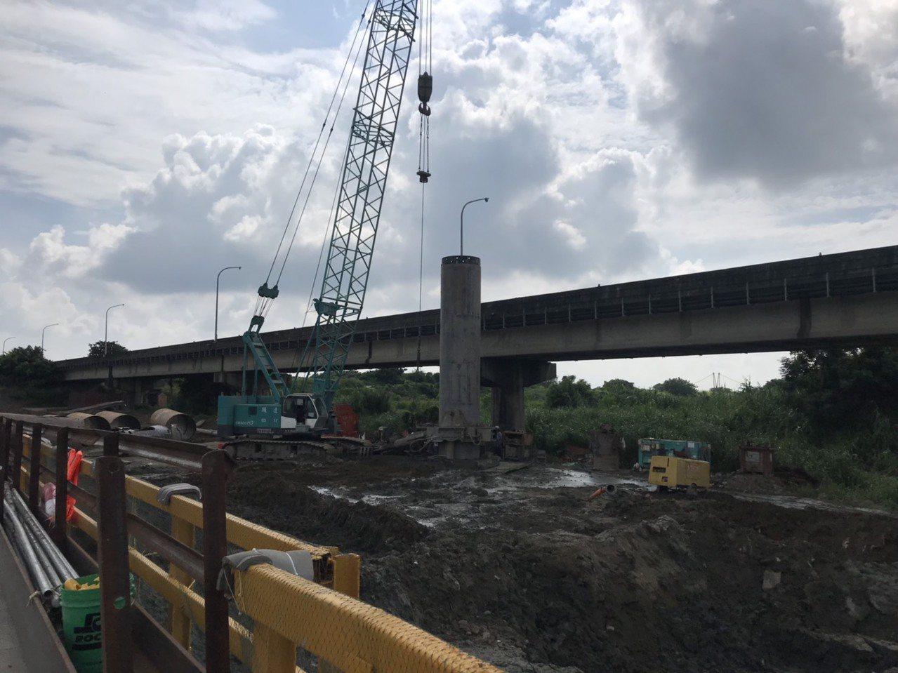 嘉縣首座斜張橋 施工進度超前