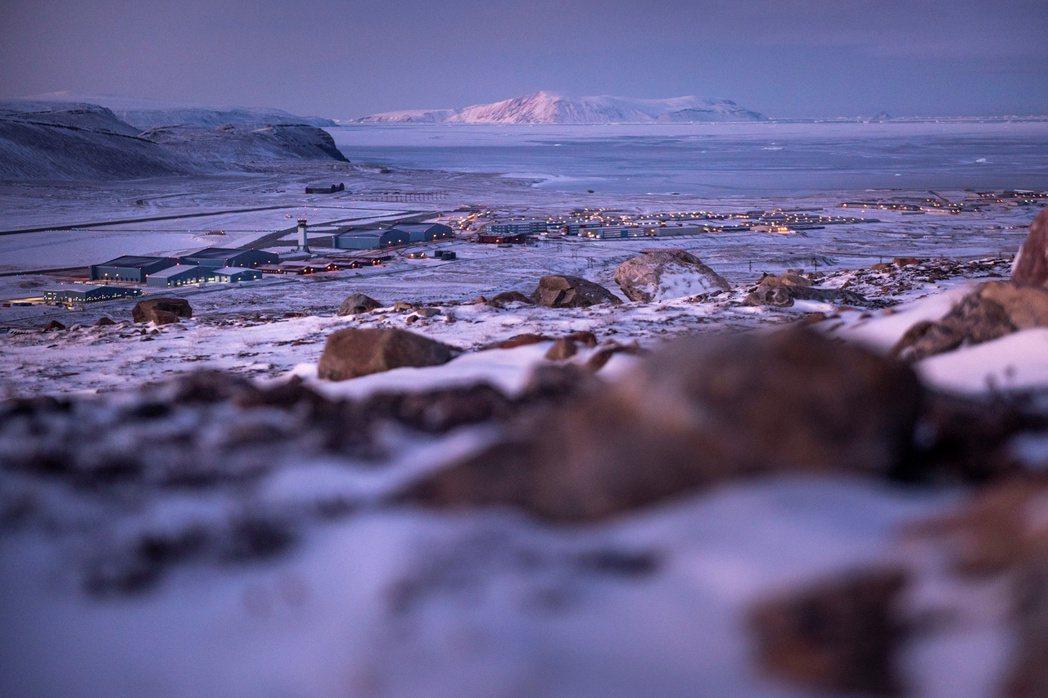 設在格陵蘭的美軍圖勒空軍基地。(路透)