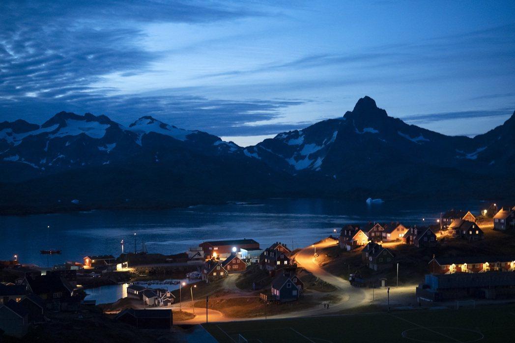 格陵蘭島地廣人稀,人口不到6萬人。(美聯社)