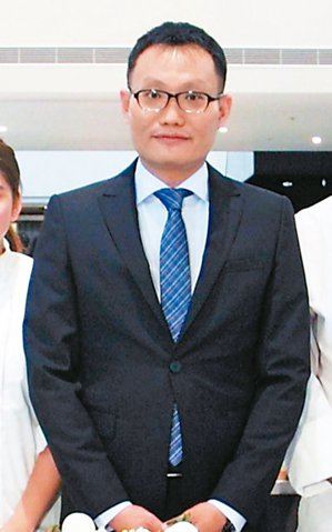 晶華酒店董事總經理吳偉正 (本報系資料庫)