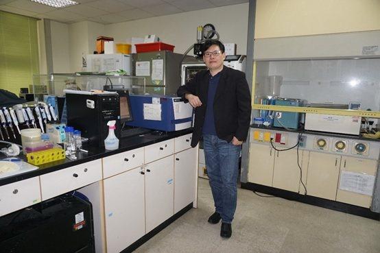 長庚大學生物醫學工程研究所吳旻憲教授。 楊連基/攝影