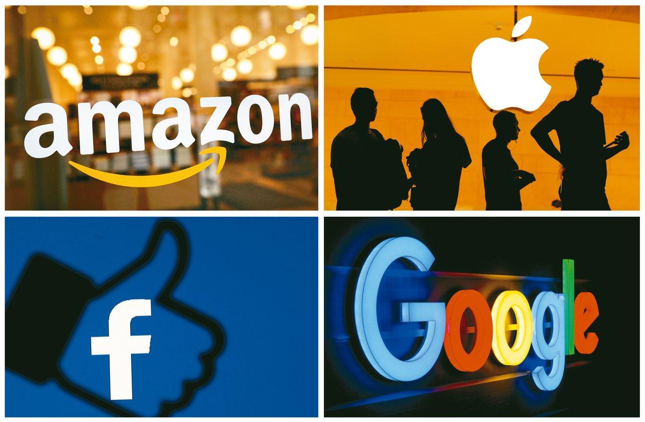 美國多州檢察總長準備對科技巨擘展開反托辣斯聯合調查,科技四巨頭谷歌、臉書、亞馬遜...