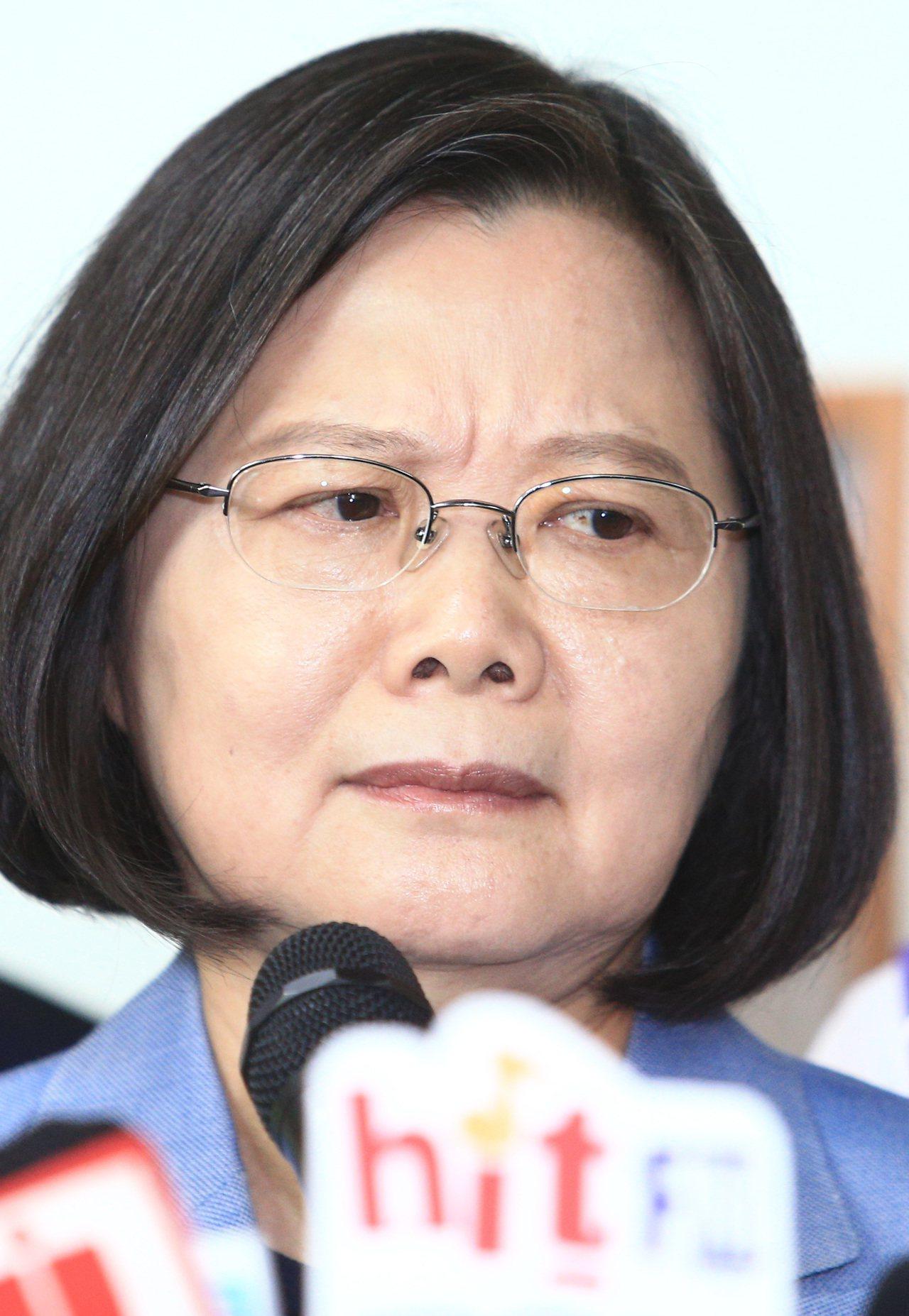 蔡英文總統。聯合報系記者陳正興/攝影