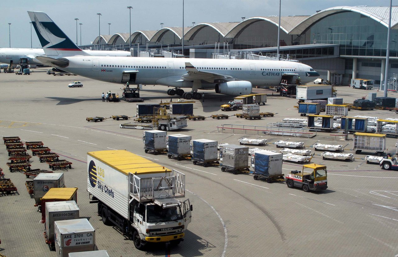國泰航空8月份載客較去年跌11.3%。 香港中通社