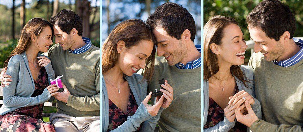 如何選擇婚戒,經常是準新人最頭痛的問題。 AMC鑽石婚戒/提供