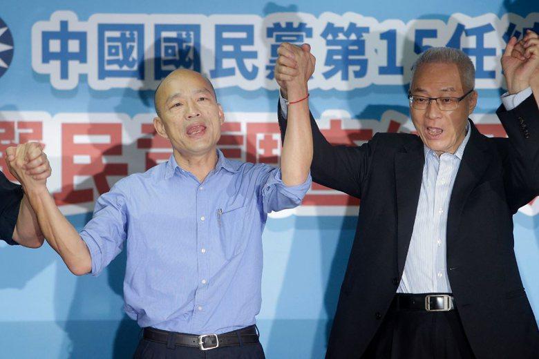 面對市政國政難以兼顧與民調無量下滑,韓國瑜的總統路充滿了不少挑戰。 圖/美聯社