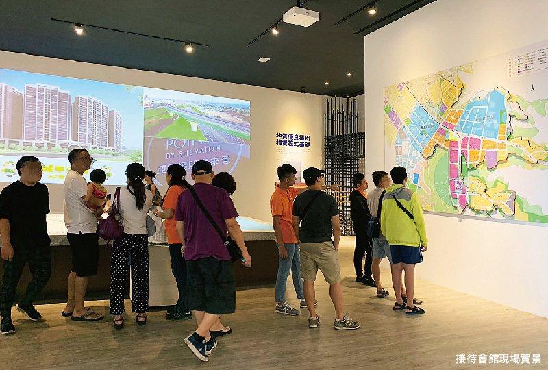 A7地王大案「竹城甲子園」,一期進入搶購倒數,週週來人仍破百組。 圖/竹城甲子園...