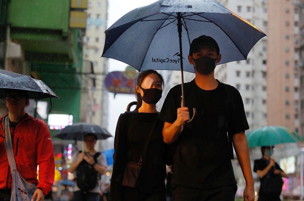 香港反送中運動的結果,將直接影響中國對台政策之調整。 圖/美聯社
