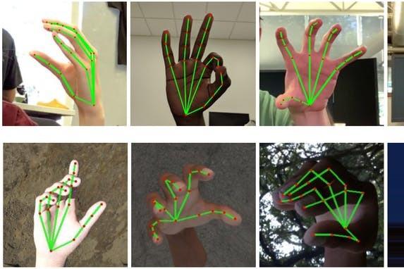 手機即時翻譯手語!Google AI實驗室推即時手部追蹤技術