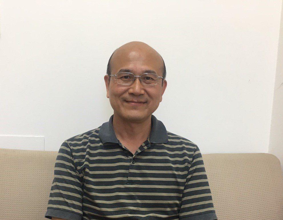 交大管理學院副院長兼台商全球化研究中心主任溫金豐教授。 吳佳汾/攝影