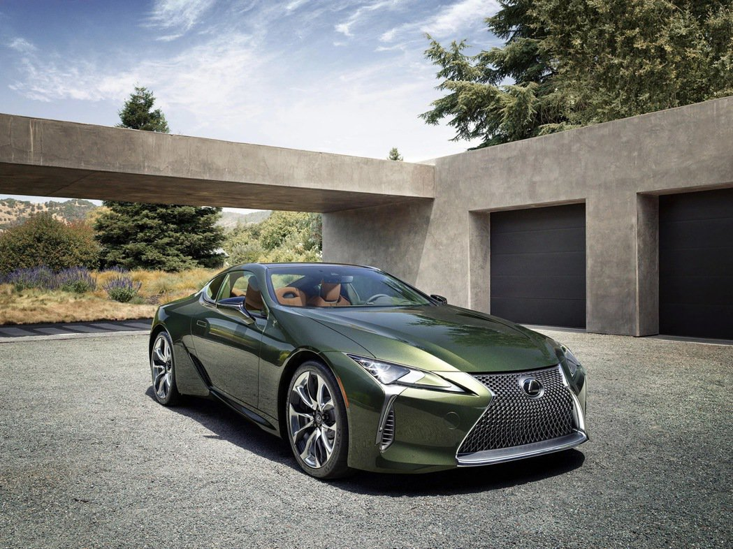 LEXUS推出2020年式LC Limited Edition,採用名為「Ter...