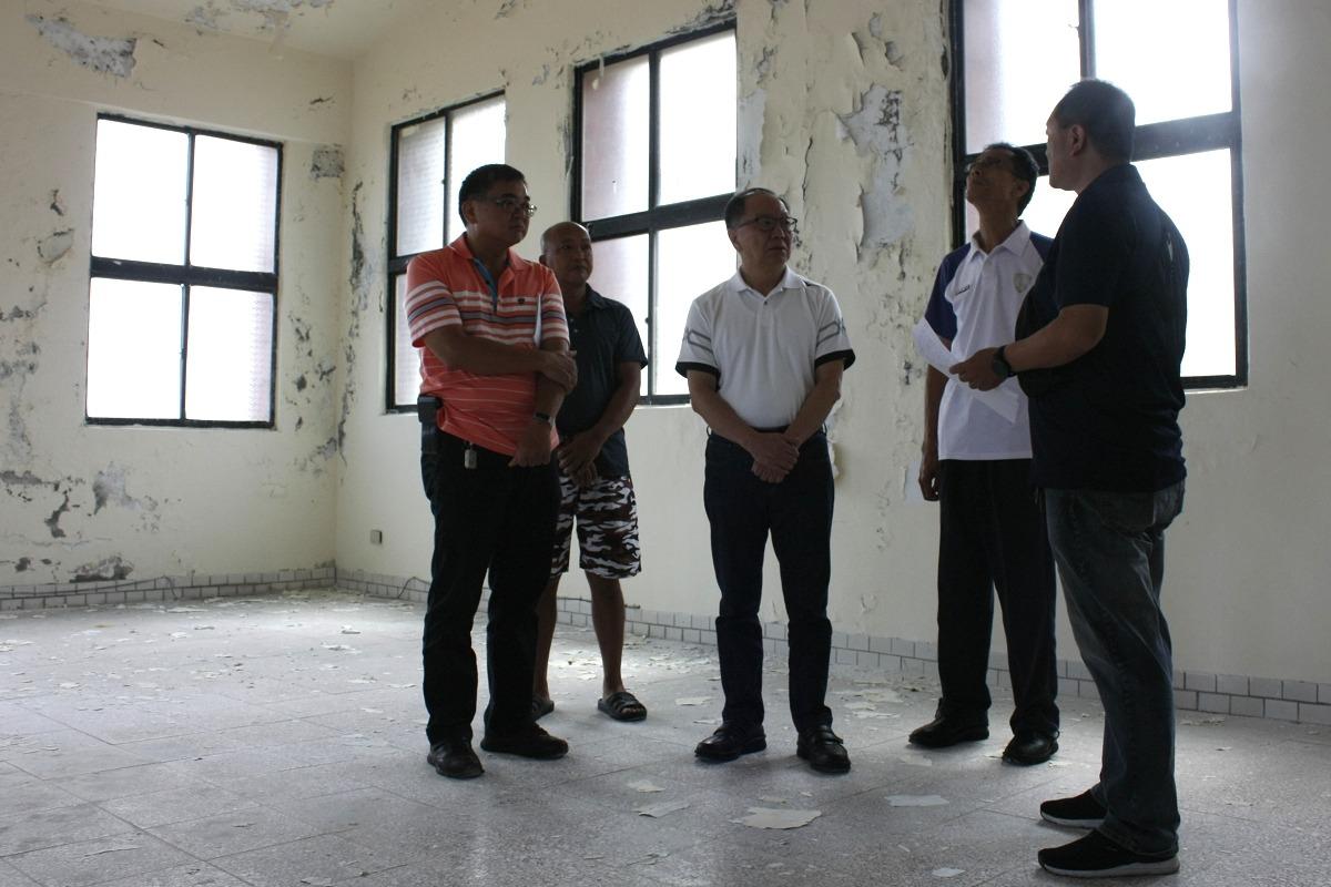 瑞芳活動中心鏽蝕成倉庫 地方爭取整修