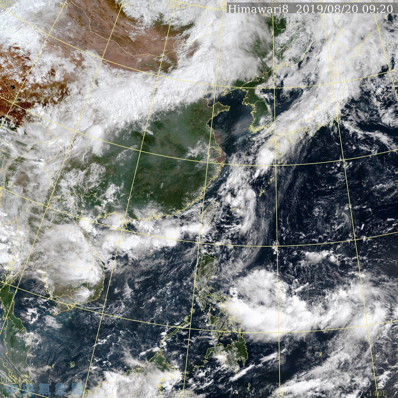 中央氣象局說,未來菲律賓東方海面有熱帶系統生成的機率,然而發展時間、位置仍有不確...