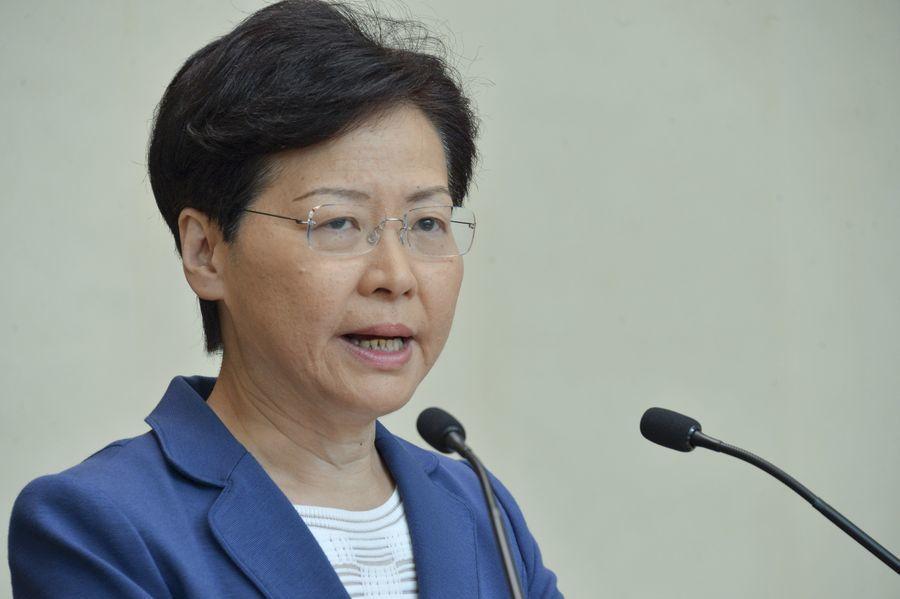 香港特首林鄭表示會馬上展開工作,建立對話平台。取自星島網