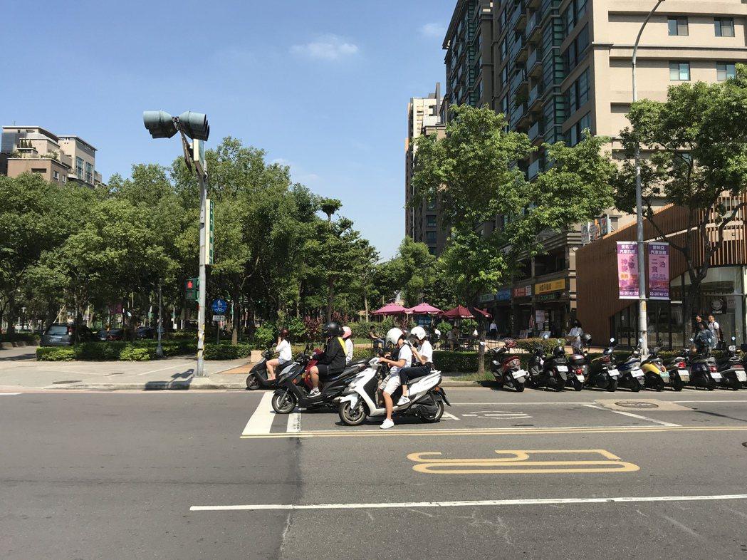 北大特區學勤路 記者游智文/攝影