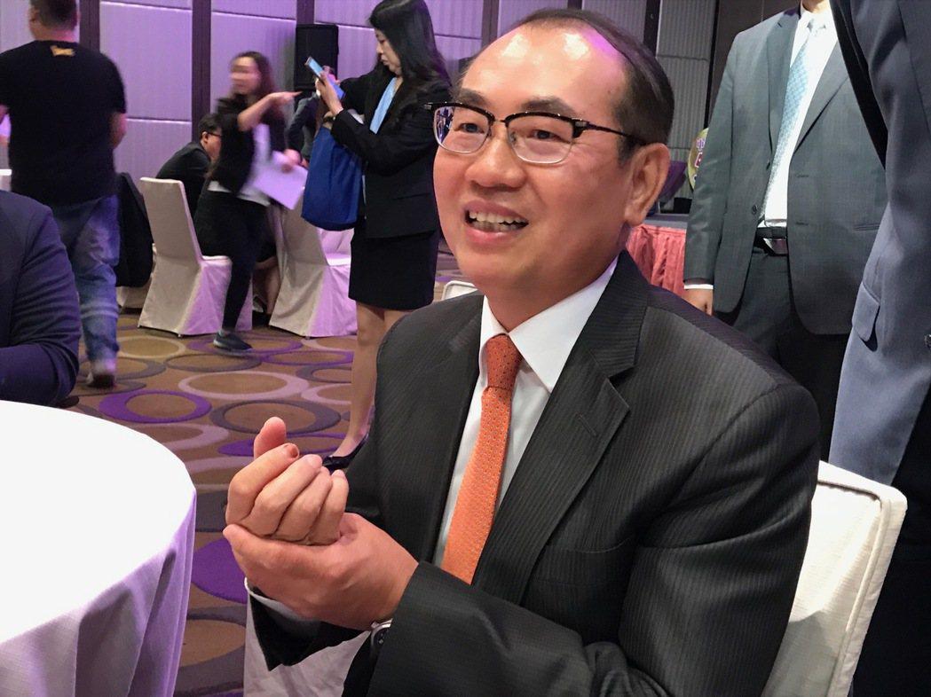 台彩總經理蔡國基。記者陳怡慈/攝影
