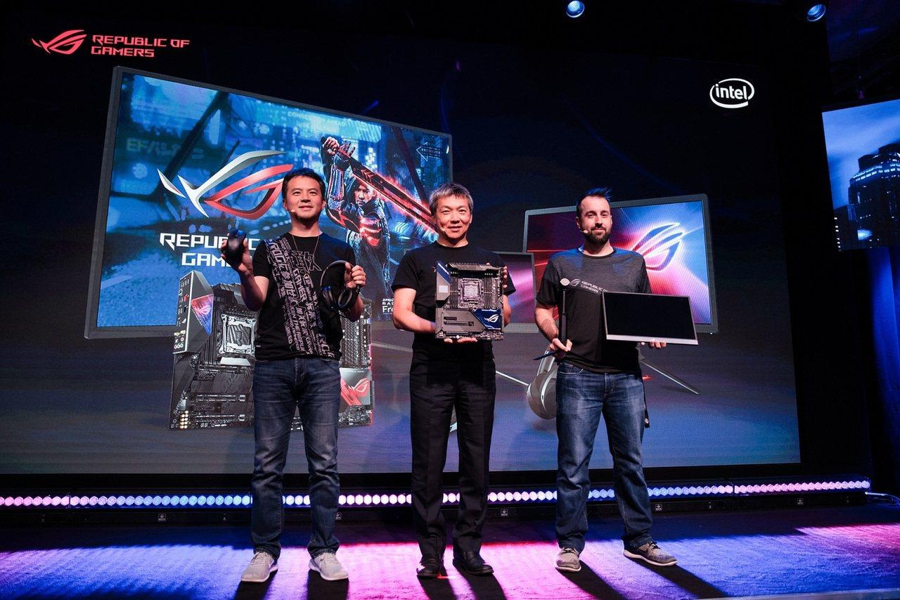 2019德國科隆電玩展(Games com)正式起跑,華碩也舉行新品發表會。 圖...