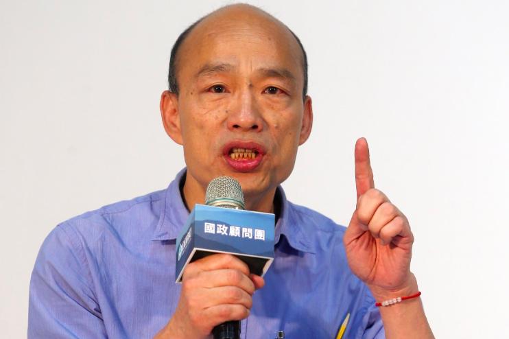 市長室多次遭闖入 韓國瑜今正式提告菊市府員工吳建鴻