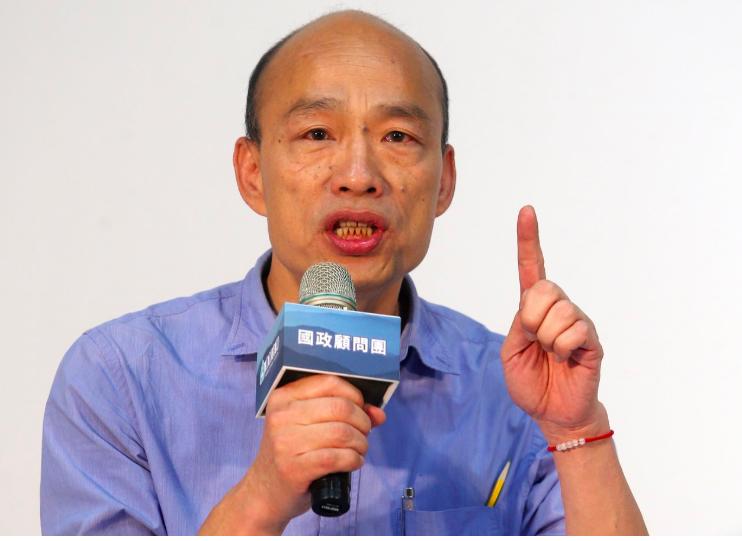 高雄市長韓國瑜。記者曾吉松/攝影