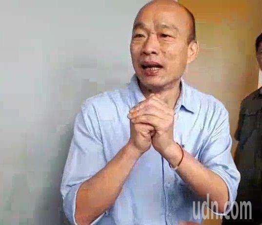 高雄市長韓國瑜今天自爆車子被裝追蹤器,媒體追問是那一部車被裝追蹤器?是公務車或自...