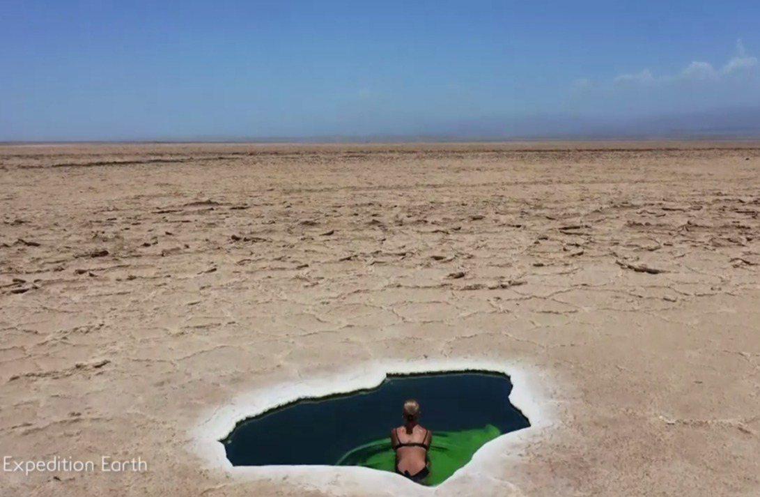 一對來自紐西蘭的情侶,6月時來到衣索比亞境內的「達納基勒窪地」(Danakil ...