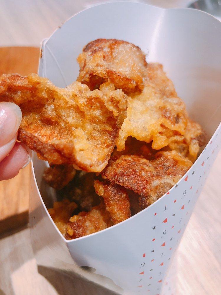 「雞皮小仙貝」嘗鮮價60元。圖/繼光香香雞提供