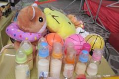 彰醫辦普渡 矮化供桌擺玩具、奶嘴「方便」嬰靈取用