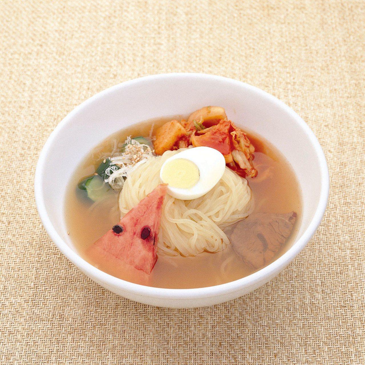 盛岡涼麵與碗子蕎麥麵、炸醬麵並列為「盛岡三大麺」。圖/JR東日本提供