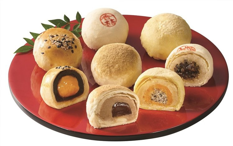 禮坊緣悅8入綜合酥禮盒內含全新登場的黑糖QQ奶茶酥,售價450元。圖/7-ELE...
