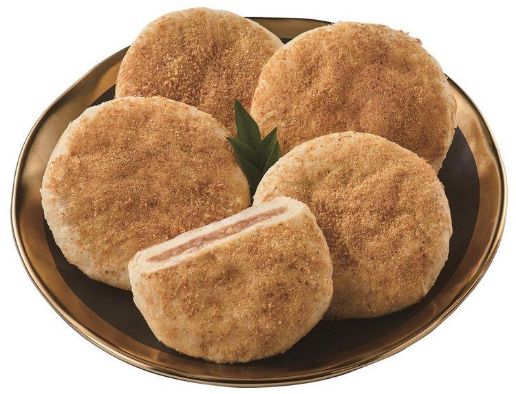 顏新發X福源花生醬太陽餅禮盒,售價390元。圖/7-ELEVEN提供