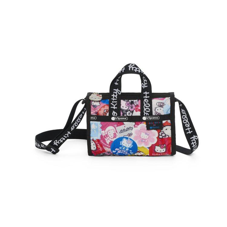 Hello Kitty x LeSportsac聯名系列收藏狂粉主題單間斜背包,...