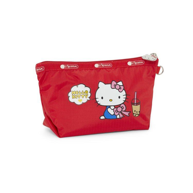 Hello Kitty x LeSportsac聯名系列「NI HAO」中梯形化...