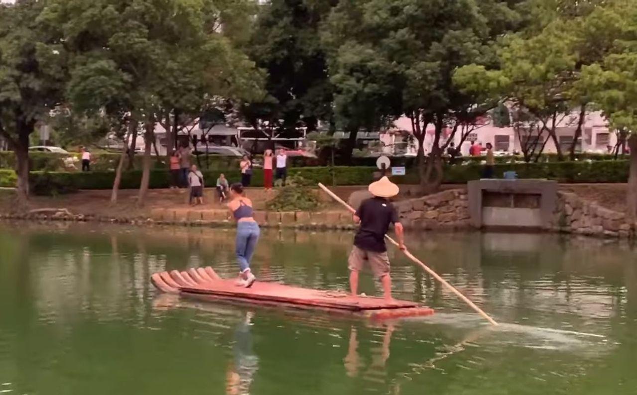 龍潭大池水上創意劇場「紅菱夢」 24日晚盛大登場