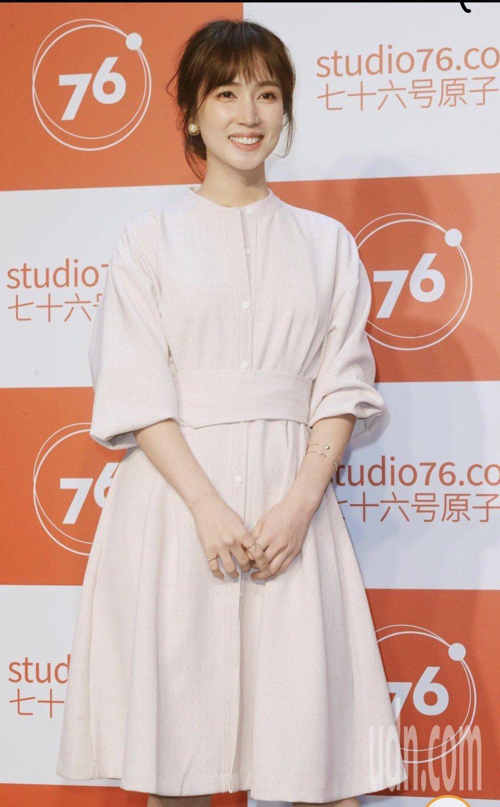 小薰參與「76號恐怖書店之恐怖罐頭」系列短片宣布記者會。記者曾學仁/攝影