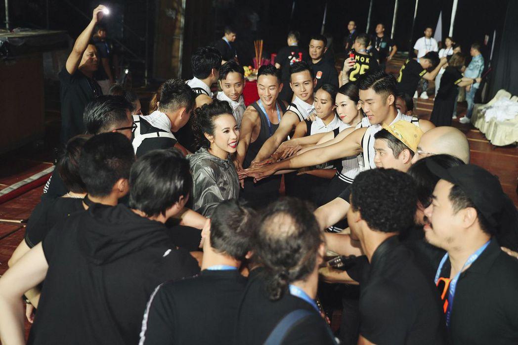 天后莫文蔚上週六於山東省臨沂舉辦個唱巡演。圖/莫家寶貝工作室提供